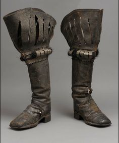 Pair of Men's Theatrical Boots, European, 2nd Half of 1800s.