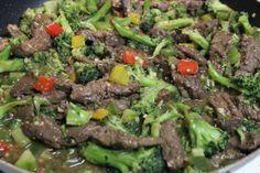 Venison Broccoli Stir Fry