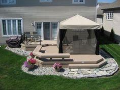 modern patio deck ideas 23