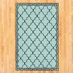 Aqua Floor Tile Indoor-Outdoor Rug  $139.99 to $559.99