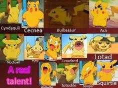 Pikachus impressions