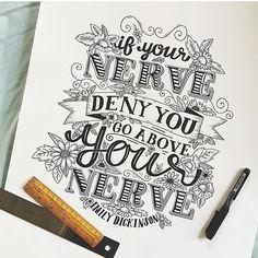 Great lettering by @stephsayshello #Designspiration #design #lettering #creative - View more on http://ift.tt/1LVCgmr