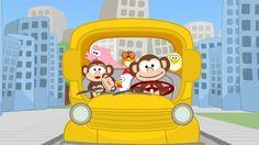 Las ruedas de los autobuses - Canciones Infantiles - Toobys - Canción pa...