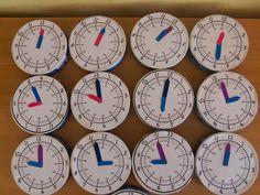 Hány óra van? Készítsünk órát!