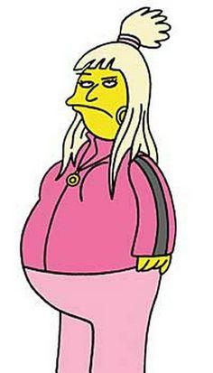 Little Britain meets the Simpsons Vicky Pollard