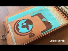 Travel Album - Central America DYI Scrapbooking - YouTube
