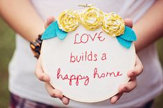 love+builds+a+happy+home-wall+art%2C+embroidery+hoop+art%2C+embroidery%2C+gift%2C+house