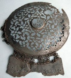Ottoman krug front plate.