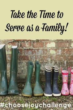 This weeks choose joy challenge is to find a way to serve others as a family. There are a few ways you can do that