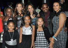 Martin Lawrence & his blended family consists of his ex-wife Patricia Southall, his current wife Shamika Gibbs, and their respective kids.