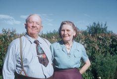 Joe and Mary George 1950