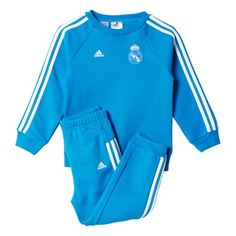 n/a Real Madrid 3 Stripe Baby Jogger AA1790 Young fans can support their favourite team in style and comfort with this Real Madrid 3 stripe baby jogger. Styled with Real Madrid screen prints and buttons on neck opening, fans can show pride when http://www.MightGet.com/april-2017-2/n-a-real-madrid-3-stripe-baby-jogger-aa1790.asp