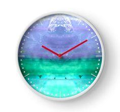 Fluorite Clock by lightningseeds® for crystalapertures.rocks.