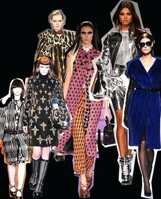 Stuck on repeat. Milan Fashion Week trends autumn/winter 2012