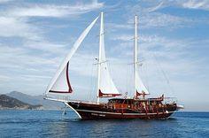 Charter gulet Vesta 1 Sevil, 6 cabins, 12 berths.