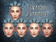 The Sims Resource: R skin 7 - female- Overaly by RemusSirion • Sims 4 Downloads
