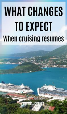 Cruise lines have confirmed many of the changes coming as cruises restart from America. From face masks to testing to shore excursions, this is information you need for your upcoming cruise vacation! Cruise Port, Cruise Travel, Cruise Vacation, Disney Cruise, Vacations, Cruise Ship Reviews, Best Cruise Ships, Carnival Cruise Tips, Packing List For Cruise