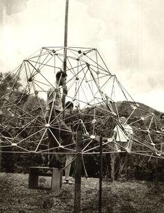 Buckminster Fuller's classes - Black Mountain College, North Carolina. 1948-1949