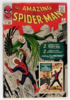 Silver Age (1956-1969): Superhero, The Amazing Spider-Man #2 (Marvel, 1963)