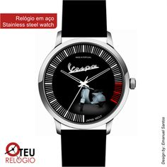 Mostrar detalhes para Relógio de pulso OTR VESPA MOTO 017
