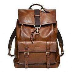 Bleecker Leather Backpack... so i really like this but it is soooo expensive. i would like a backpack like it though
