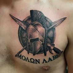 spartan tattoo20