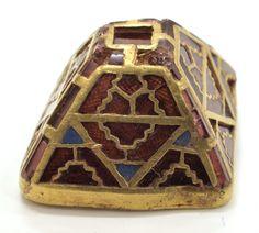 Gold, garnet, glass - Staffordshire Hoard, K377 (Birmingham and Stoke Museums)