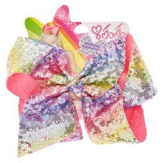 JoJo Siwa Large Birthday Collection Rainbow Hair Bow