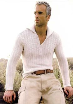 21 Best Ideas For Hair Men Fashion Silver Foxes Outfits Casual, Mode Outfits, Men Casual, Older Mens Fashion, Mens Fashion Suits, Older Mens Hairstyles, Haircuts For Men, Haircut Men, Mode Man