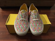 b0c592462a Vans Authentic The Beatles Yellow Submarine All You Need is Love OTW Size 10