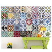 Tile Art Self Adhensive Wall Decal Sticker Kitchen Bathroom Home Decor Vinyl