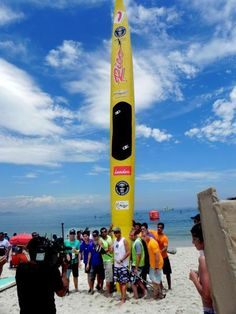 World's Longest SUP board