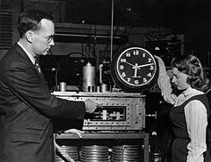 The Cesium Atomic Clock at the National Physical Laboratory, UK developed by Columbia University scientist under Dr. Charles Townes. It kept time to a second in 300 years; today, one second in 1,400,000 years. It is the most accurate realization of a unit that mankind has yet achieved.