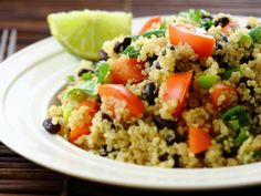 Tomato and Black Bean Quinoa