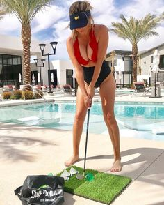 I hold several records on the golf course, but they all pertain to 🍺 loving my new Girls Golf, Ladies Golf, Women Golf, Lpga Golf, Nike Womens Golf, Sexy Golf, Barefoot Girls, Pool Days, Sporty Girls