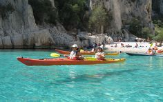 Can`t wait to kayak the calanques Cassis, France