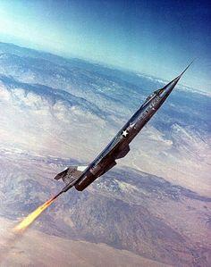 NF-104 Starfighter rocket