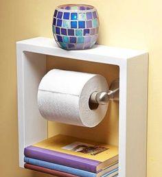 DIY Small Bathroom Organization