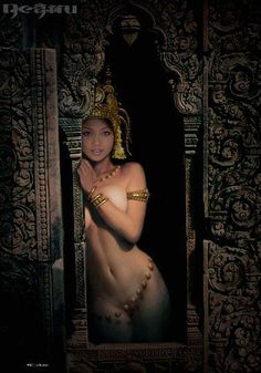 Risultato immagini per apsara sexy Asian Woman, Asian Girl, Khmer Tattoo, Thai Tattoo, Divine Mother, Exotic Women, Thai Art, Goddess Art, Exotic Beauties