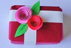 Manualidades para todos: Adorno para envoltorio de regalo