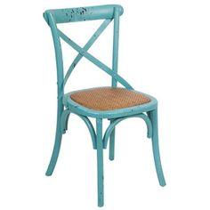Niebieskie krzesło Santiago Pons Lauren