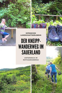 Schuhe aus. Hose hochkrempeln und dann barfuß laufen: Über Gras, Kiesel und durch eiskaltes Wasser. Beim Kneippwanderweg in Olsberg dreht sich alles um gesunde Bewegung und intensiven Landschaftsgenuss