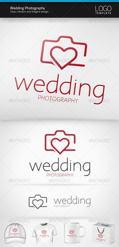 Wedding Photography - Logo Design Template Vector #logotype Download it here: http://graphicriver.net/item/wedding-photography-logo/3552110?s_rank=225?ref=nexion