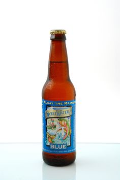 Sweetwater Brewing Company. The name Blue is from the use of blueberries.