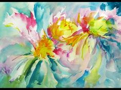 Daily Painters Of Hawaii: Tropical Flowers - Original Watercolor by Arlene G. Watercolor Art Face, Watercolor Flowers, Watercolor Paintings, Flower Paintings, Art Floral, Tropical Flowers, Daily Painters, Art Background, Flower Pictures