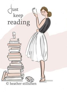 Book Art Just Keep Reading Quotes Art by RoseHillDesignStudio - Rose Hill Design Studio - Livre Reading Quotes, Book Quotes, Art Quotes, Inspirational Quotes, Motivational Quotes, Library Quotes, Motivational Wallpaper, I Love Books, Books To Read