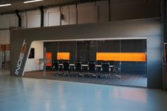 next level showroom experience, realised nov. Office, Studio, Showroom, Interior Design, Acoustic, Interior Designing, Nest Design, Home Interior Design, Studios