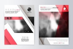 Annual Report Brochure. A4 Vector @creativework247
