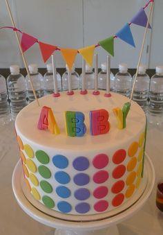 Great rainbow cake! #cake #rainbow #Artsandcrafts