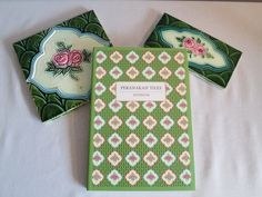 Peranakan Tile Notebook